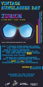 Vintage Sunglasses Day Zurich 2012